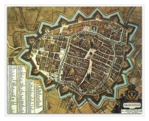 Groningen in de zeventiende eeuw.