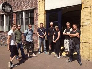 De brouwers van Brouwerij Martinus hebben de wandeling alvast getest.